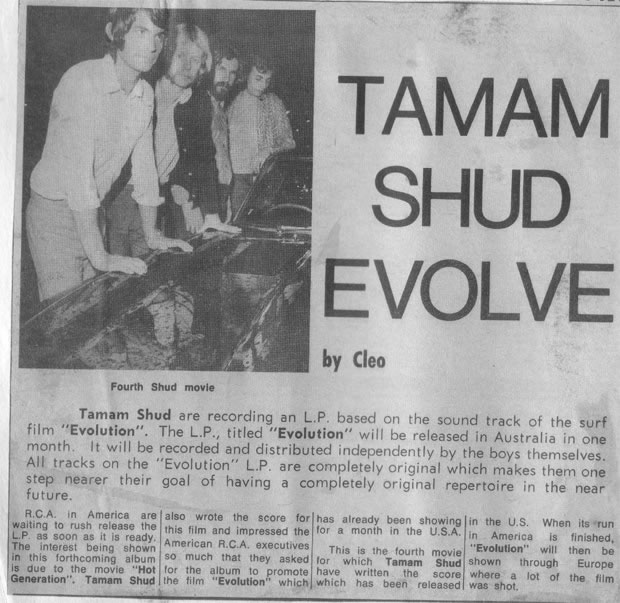 Tamam Shud, The Real History by Dannie